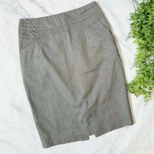 Reiss Essentials Leon Gray Career Pencil Skirt